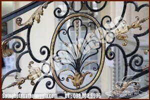 Lựa chọn mẫu cầu thang sắt nghệ thuật đẹp cổ điển như thế nào?